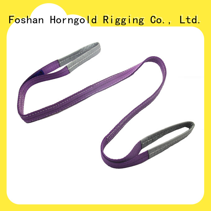Horngold slings webbing lifting straps factory for lashing