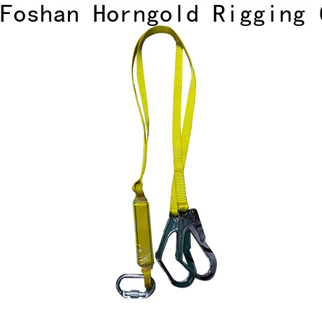 Horngold double safety harness for roof workers suppliers for climbing