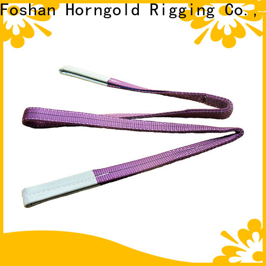 Horngold Custom bridle sling rigging company for lashing
