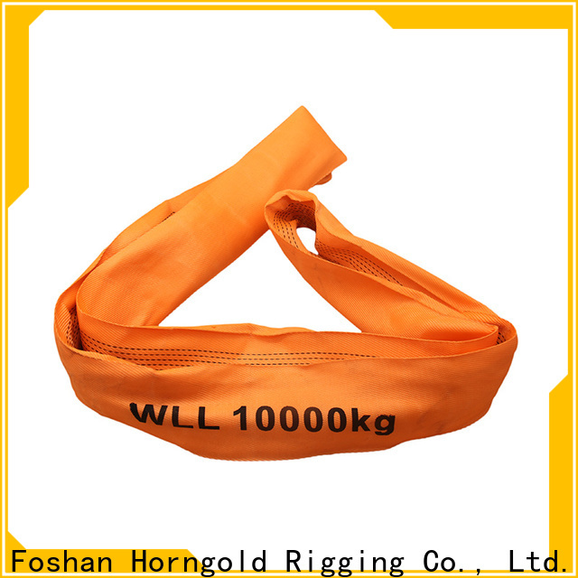 Horngold New lifting sling inspection factory for cargo
