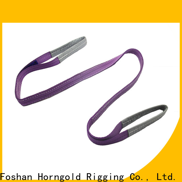 Wholesale crane lifting straps endless suppliers for climbing