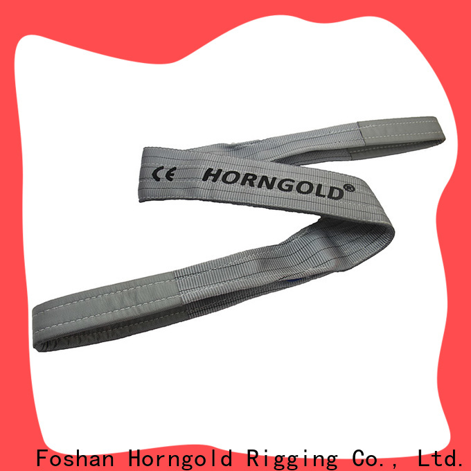 Horngold Top crane straps slings suppliers for lifting
