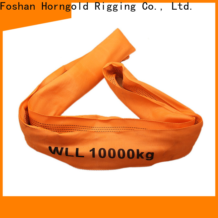 Horngold Top material handling lifting straps suppliers for lashing