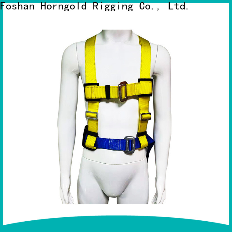 Horngold full walking safety harness suppliers for cargo