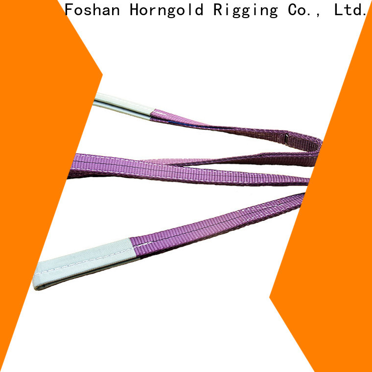 Horngold catalog bridle sling rigging manufacturers for cargo