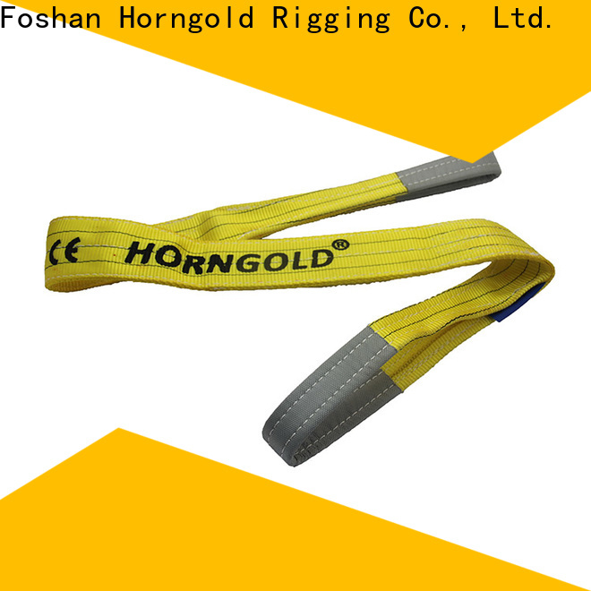 Horngold webbing lifting sling manufacturers company for climbing