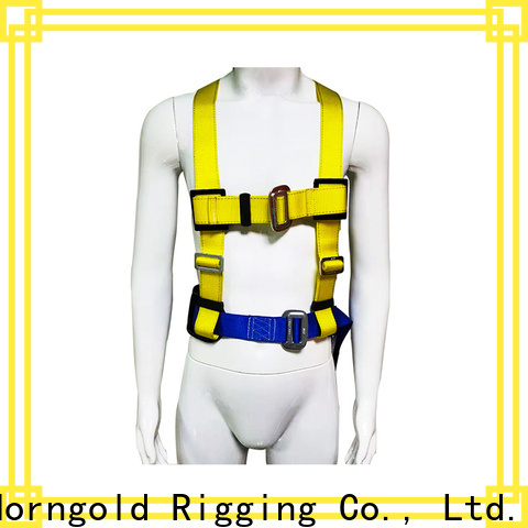 Horngold leg new safety harness company for lashing