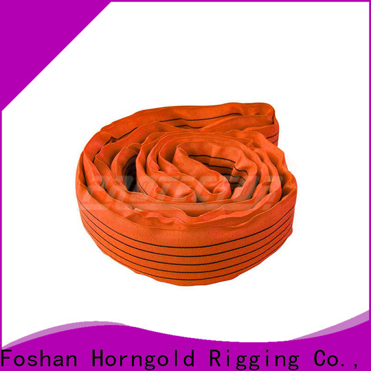 Horngold professional 2 ton lifting straps manufacturers for lashing