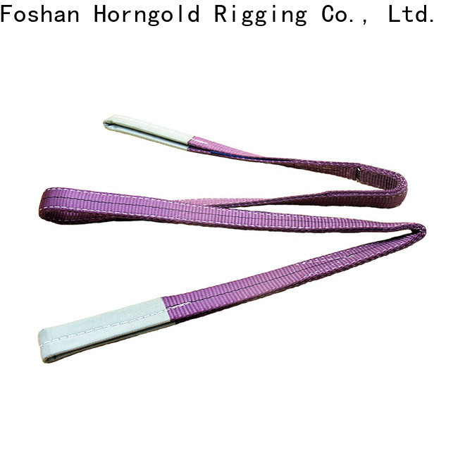 Horngold New flat sling suppliers for climbing