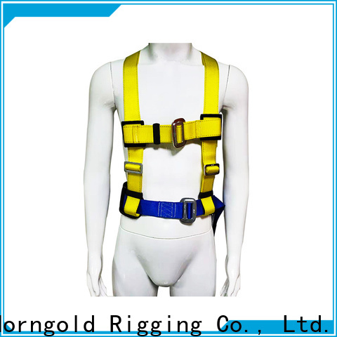 Horngold shock safety harness and lanyard combo company for cargo
