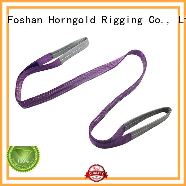 Top heavy duty nylon lifting straps modulus supply for climbing