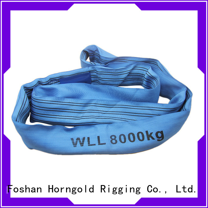 Custom boat sling modulus supply for lifting