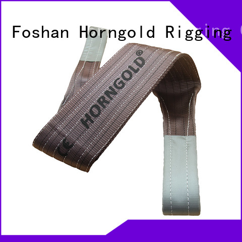 Horngold webbing pipe lifting sling suppliers for lashing