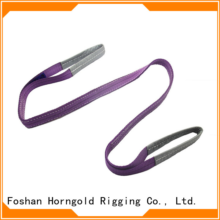 Custom 2 ton lifting straps slings supply for lashing