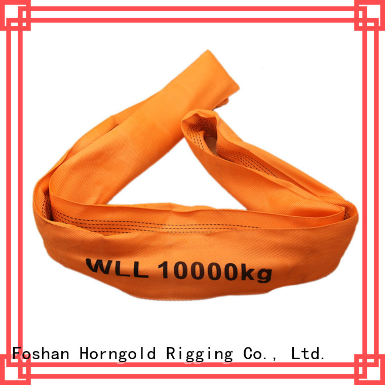 Horngold polyester round slings for sale factory for lashing