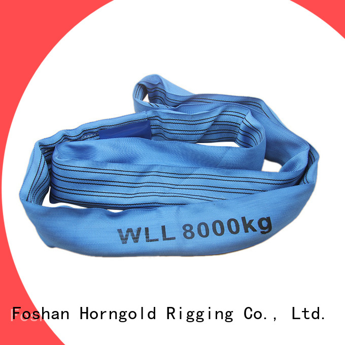 Horngold 5000kg forklift lifting slings manufacturers for lashing
