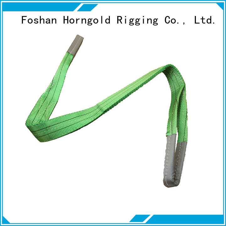 Horngold endless sling web company for cargo