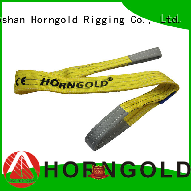 Horngold slings polyester webbing sling specification factory for lashing