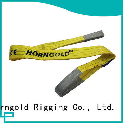 Horngold round lifting with slings for business for cargo