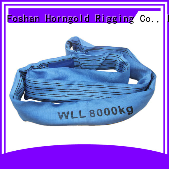 Horngold 1t nylon slings capacity manufacturers for lifting