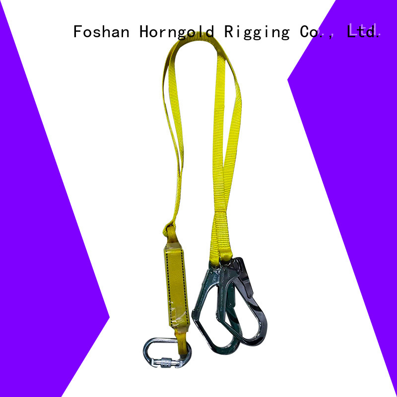 Horngold body safety body harness lanyard factory for cargo