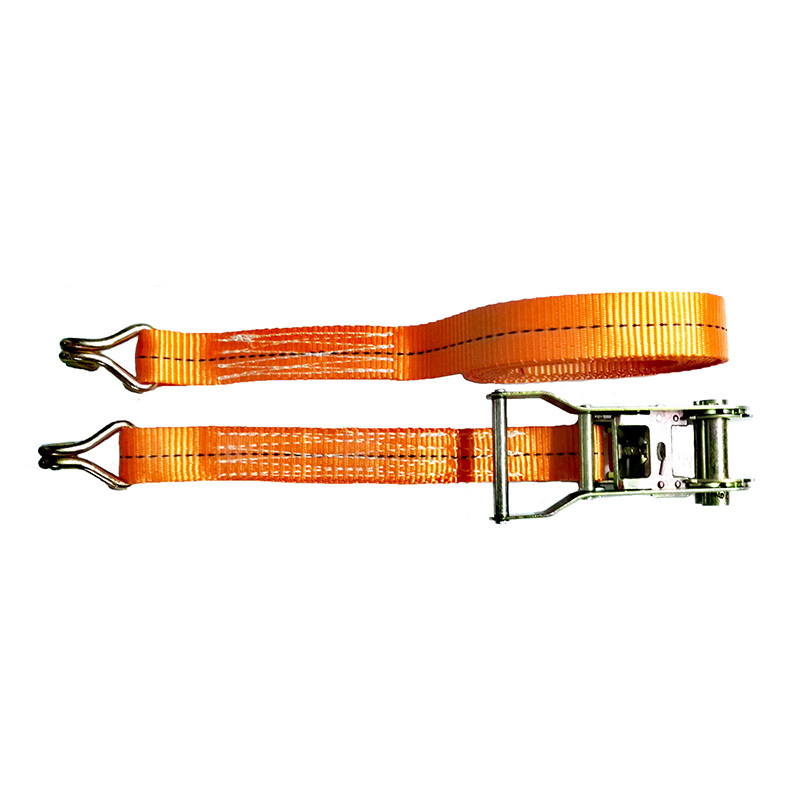 Standard Ratchet Tie Down Strap with Two Parts