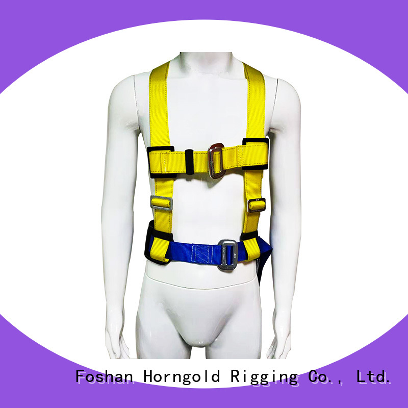 Top body harness safety belts supply for lashing