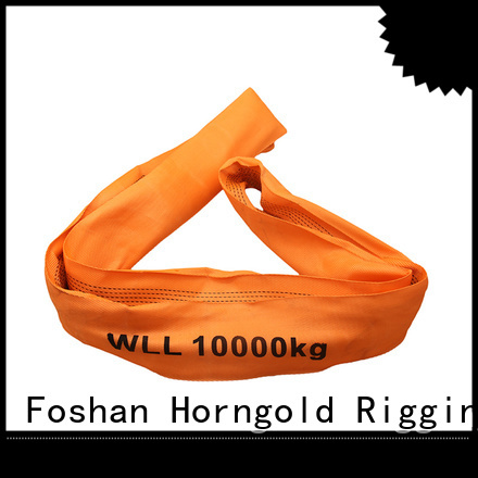 Custom webbing sling suppliers belt suppliers for cargo