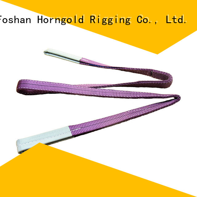 Wholesale polyester webbing sling catalog supply for lifting
