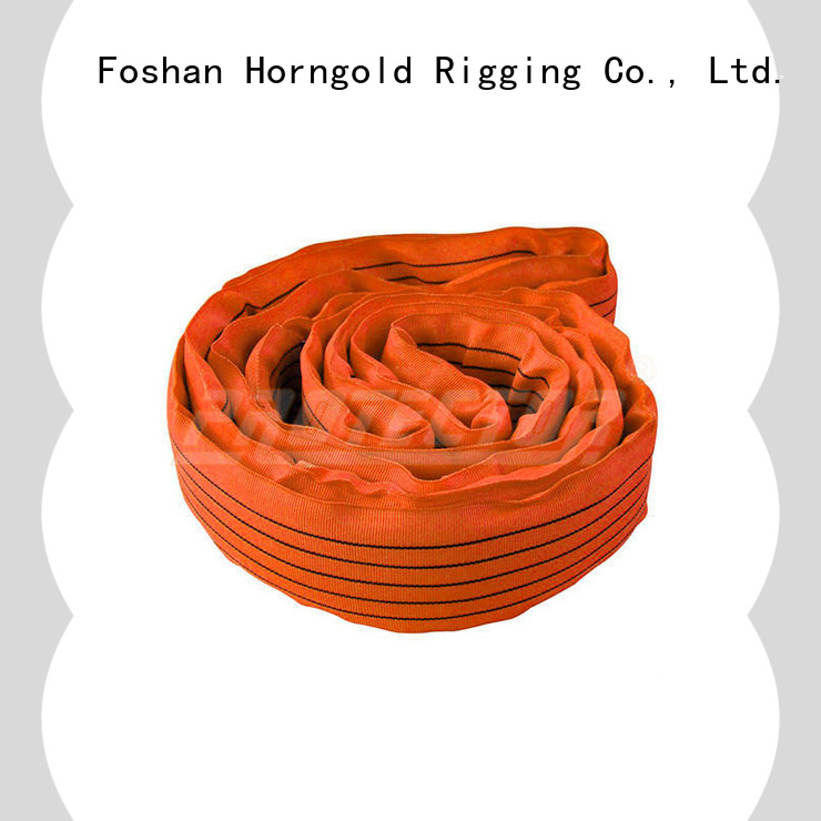 Horngold New material handling straps suppliers for lifting