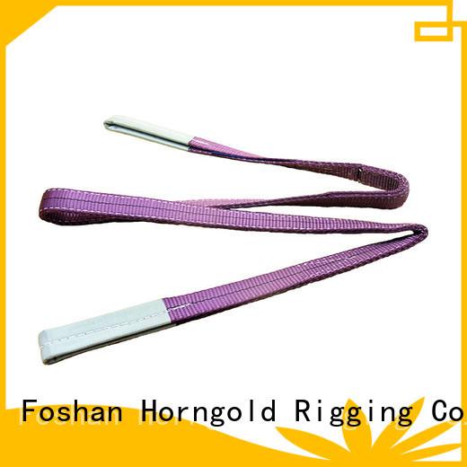 Horngold belt sling equipment manufacturers for lashing