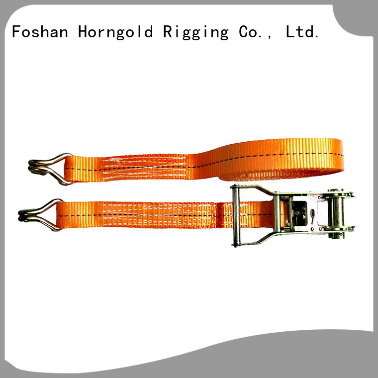 Horngold standard cargo straps and ratchets company for lifting