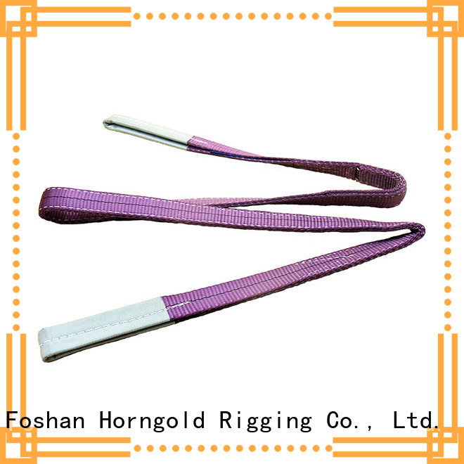 Horngold 2t round sling hooks suppliers for lifting