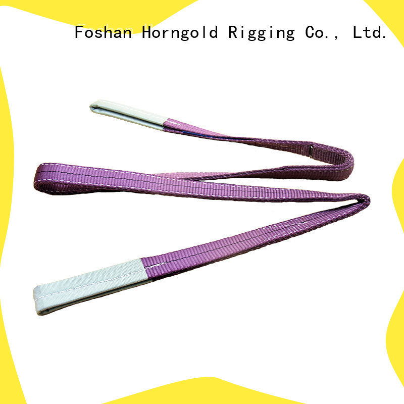 Horngold Best soft lifting slings manufacturers for cargo