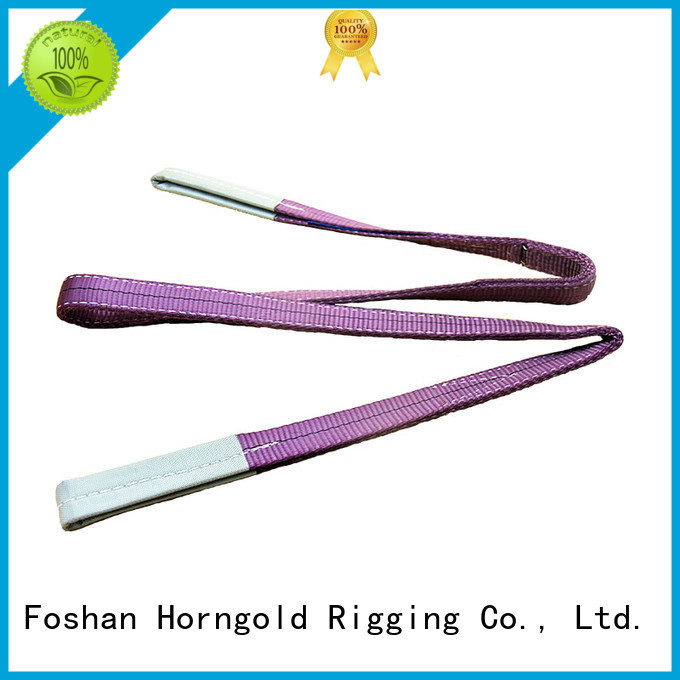 Horngold 1000kg steel wire rope sling factory for cargo