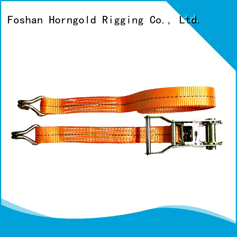 New security tie down straps ratchet factory for cargo